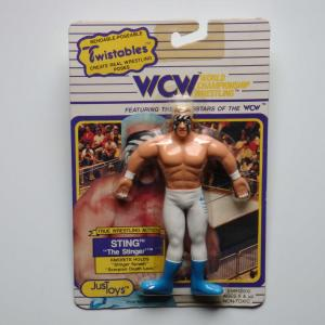 WCW BENDABLE-POSEABLE STING スティング Twistables