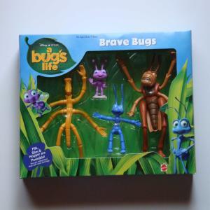 バグズライフ Brave Bugs フィギュアセット