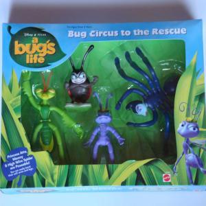 バグズライフ Bug circus to the Rescue フィギュアセット