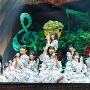【日向坂46】小坂菜緒、「無観客生配信ライブ」 楽しいって顔してるな