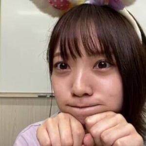 【日向坂46】宮田愛萌、「SHOWROOM」細すぎと心配してたけど意外とありますね