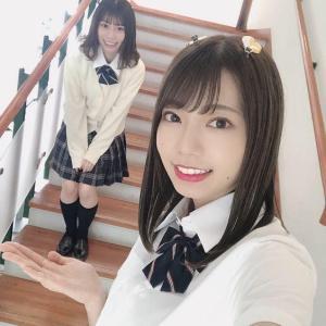 【日向坂46】東村芽依&高本彩花、 こーやって見るとなんか顔似てるね