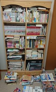 本棚に入りきらない本