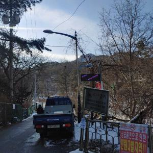 ソウルで山登り!「グァンアク山」