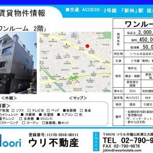 ★ウリハウジング★2号線「新林」徒歩7分!!静かな住宅街の物件!第2!!