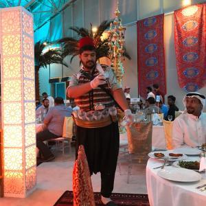 サウジアラビアに想いを馳せる。