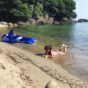 史上最高のビーチを見つけた@竹野海岸〜夏休み家族旅行2020②〜