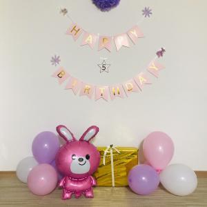 娘の5歳のお誕生日の記録♪〜飾り付けやらプレゼントやら〜