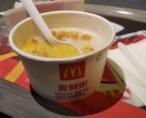 上海のマクドナルドには!