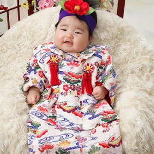 琉球衣裳です!百日記念♪