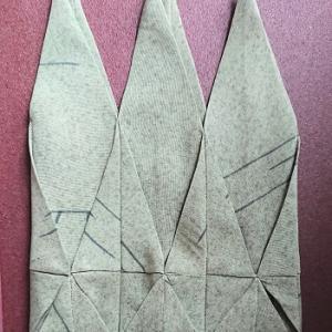 変形カテドラルウインドウの巾着 2
