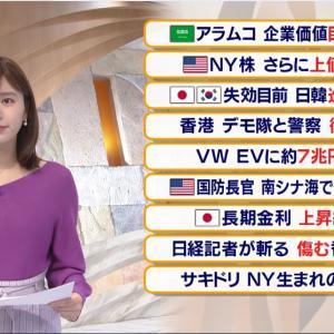【2019.11.18】#テレビ東京 報道まとめ