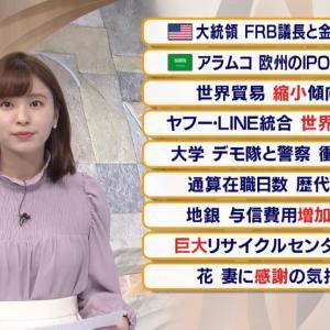 【2019.11.19】#テレビ東京 報道まとめ