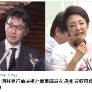 河井夫妻逮捕で安倍内閣総辞職が求められているが・・・