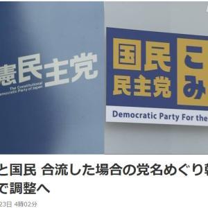 新党設立に同意させて名前は立憲民主党って、完全に取り込み詐欺やん。www