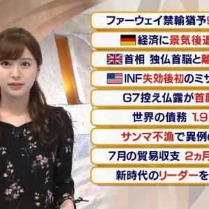【2019.08.20】#テレビ東京 報道まとめ