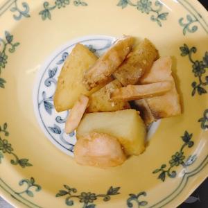 夕飯2020/06/13鮭とジャガイモ