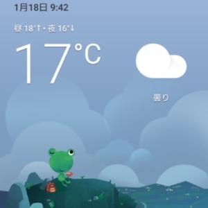 おはようございます   南国でも 寒いです