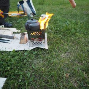夏至近くのキャンプ