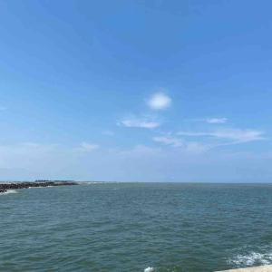 7月29日 鳥の海の堤防 釣行13