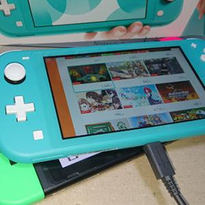 NINTENDO Switch Lite 届きました!