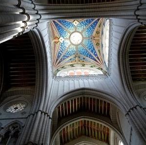 アルムデナ大聖堂でナンパ男に再会