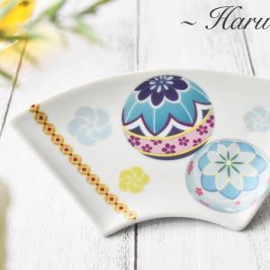日本の四季を感じる食器♡三段重に扇皿のセット