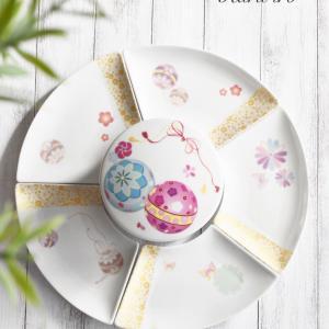 お重と合わせて使いたい扇皿♡来客時にもオススメ