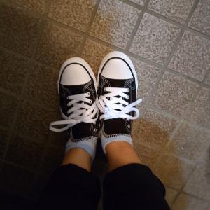 【良きお買い物】しまむらで買った靴、二足。