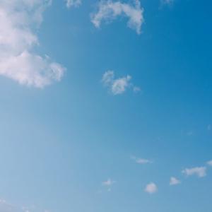 青空が綺麗な広島市
