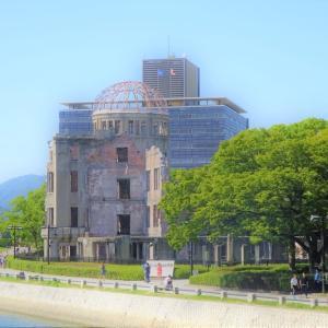 広島市内の平和記念公園の花達