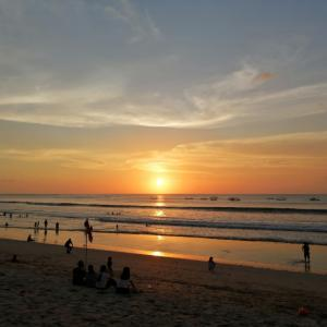 昨日のサンセット~ Kuta Beach ~