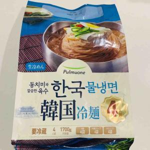 【本格的!涼みたい日に】コストコの韓国冷麺