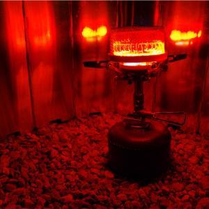 キャンプツーリングにオススメのバーナー用ヒーター NakedLabo Compact heater Ⅱ