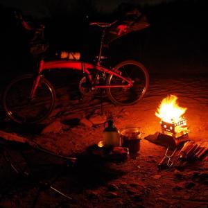 魅惑の焚き火ラーメンポタリング