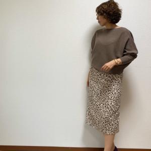 【今日のファッション】今年購入のお気に入りのニット