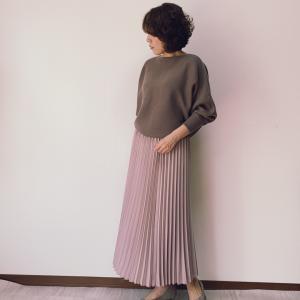 【今日のファッション】ブラウン×くすみピンクのきれいめカジュアル