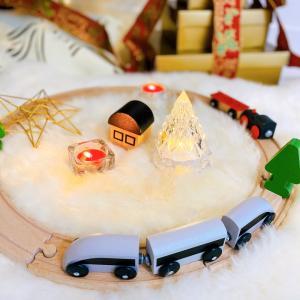 クリスマスツリー出しました♡ガラスオーナメンはポーセラーツで