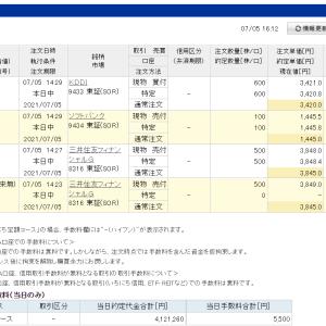 あさがおさん、ごめんなさい!三井住友FGの株主を辞めてしまいました。来年の確定申告は、マイナンバーカードとスマホでできるらしいですね