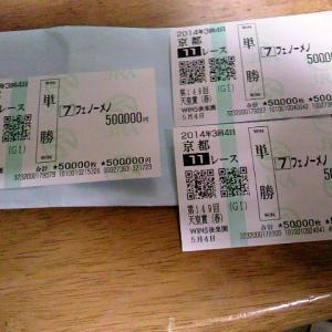 天皇賞 あの日、どのような気持ちで1725万円を受け取り、持ち歩いたのだろうか