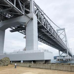 淡路島・道の駅うずしお観光❗️鳴戸岬は海まで下りると、大鳴門橋が大迫力ですよ〜😙