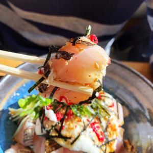 淡路島・お多福は、地元民が通う人気❗️サワラ炙り山かけ丼、美味しかったよ〜😁
