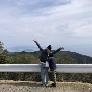 淡路三山・柏原山(かしわらやま)の絶景を求めて観光❗️家族でウロウロと散策してきました〜😁