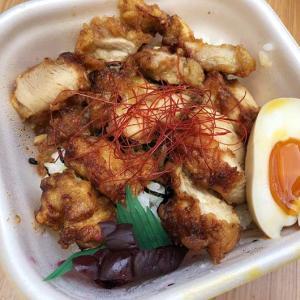淡路島・六參四(ろくさんよん)の鶏丼テイクアウトが旨し❗️むねタルタル丼もお試しあれ〜😁どちらも500円なり