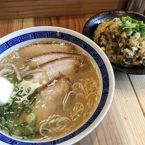 淡路島・ラーメン彩翔でランチ❗️辛メンマも、高菜チャーハンも美味しかったよ〜😁