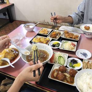 淡路島・公園でランチ❗️もうすぐ39周年の老舗中華料理屋さん😁こういう雰囲気好きなんだよね👌