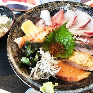 淡路島・うおたけ鮮魚店やけんど 海鮮どんやで、海鮮丼ランチしてきました〜😁