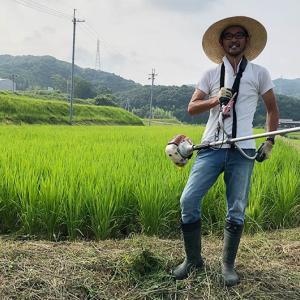 淡路島・鮎原米づくり2019 vol.14-15|田んぼに水を入れ前の、草刈りコンプリートしました‼️