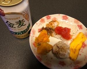 コリアンインスタント麺で晩酌