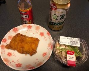ファミマ惣菜で食べすぎ晩酌